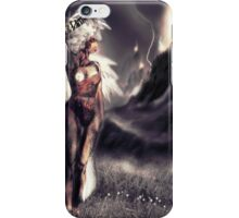 "Ambient Electra [Digital Figure Drawing...Mirrored version] ""Wide Vista"" iPhone Case/Skin"