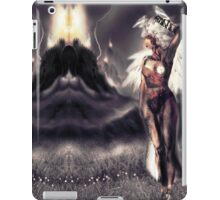 "Ambient Electra [Digital Figure Drawing...Mirrored version] ""Wide Vista"" iPad Case/Skin"