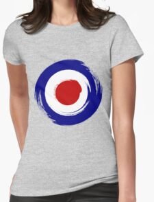 Brush stroKe Mod Target Womens Fitted T-Shirt