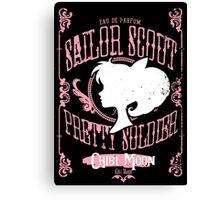 Chibi - Kitty Magic Canvas Print