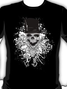 Skull and a Top Hat T-Shirt