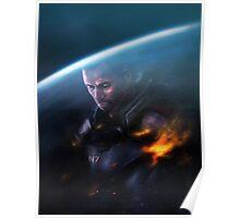 Mass Effect: Commander Shepard Poster