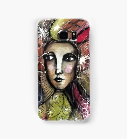 She thinks she was a bird in a past life... Samsung Galaxy Case/Skin