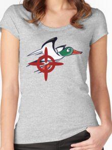 Duck Hunt - Duck James Women's Fitted Scoop T-Shirt