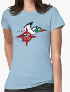 Duck Hunt - Duck James Womens Fitted T-Shirt