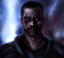 Mass Effect: Commander Shepard by spiritius