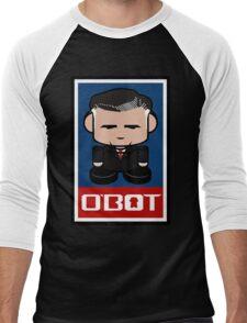 Mitt Romneybot Toy Robot 1.1 Men's Baseball ¾ T-Shirt