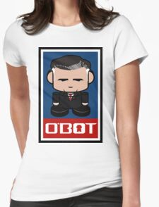 Mitt Romneybot Toy Robot 1.1 Womens Fitted T-Shirt