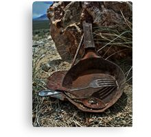 The Miner's Kitchen Canvas Print