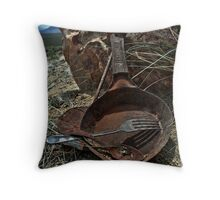 The Miner's Kitchen Throw Pillow