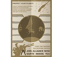 Mass Effect: Join Alliance Photographic Print