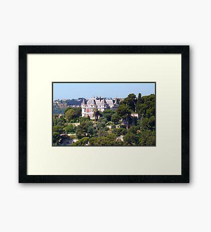 Magnificent castle Framed Print
