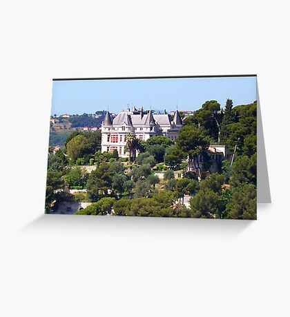Magnificent castle Greeting Card