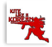 Kite Like a Korean Canvas Print