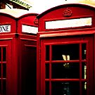 Richmond Telephone Boxes by ianclavis