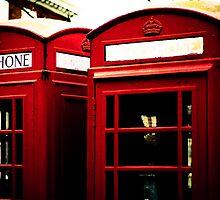Richmond Telephone Boxes by ianclavis