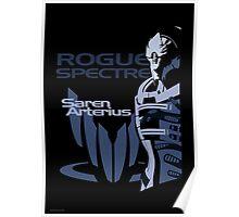 Mass Effect: Saren Arterius Poster