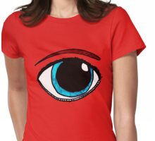 Eye Am Watching You Womens Fitted T-Shirt