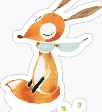 Dear Fox Sticker