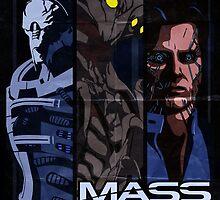 Mass Effect: Villains by spiritius