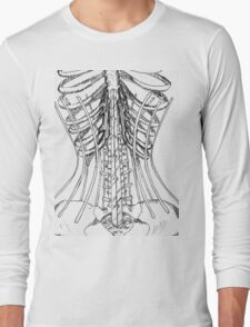 Corset Bones Long Sleeve T-Shirt