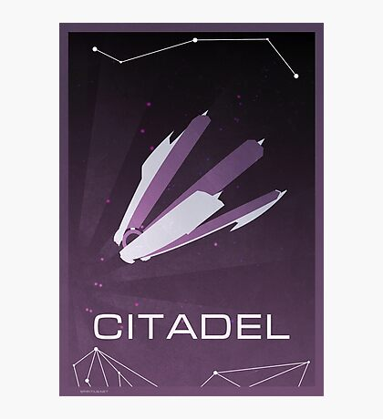 Mass Effect: Citadel Photographic Print