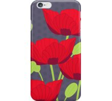 Vintage Poppy iPhone Case/Skin