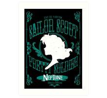 Neptune - Submarine Reflection Art Print