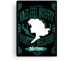 Neptune - Submarine Reflection Canvas Print