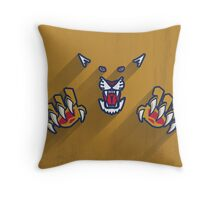 Florida Panthers Minimalist Print Throw Pillow