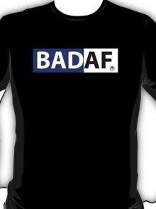 badaf blue & white on T Shirt T-Shirt