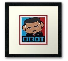 Renegade O'bamabot 1.2 Framed Print