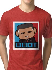 Renegade O'bamabot Toy Robot 1.2 Tri-blend T-Shirt