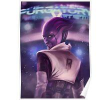Mass Effect: Aria T'Loak Poster