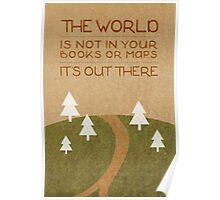 The World Out There Poster