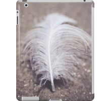 Like a Feather on the Wind iPad Case/Skin