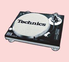 Technics 1200 Vintage  Kids Tee