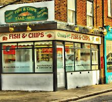 Fish n Chips by Catherine Hamilton-Veal  ©