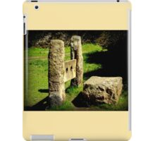 Ouch! iPad Case/Skin