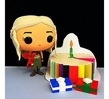 Daenerys Birthday Photographic Print