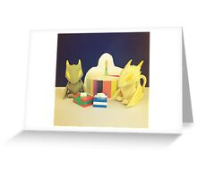 Birthday Dragons Greeting Card