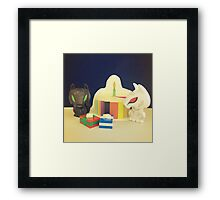 Birthday Direwolves Framed Print