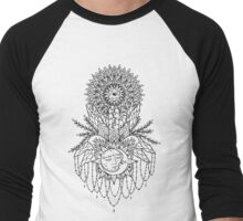 """Lascivious"" by Timothy Von Senden  Men's Baseball ¾ T-Shirt"
