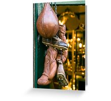 Antique Sports Equipment Greeting Card
