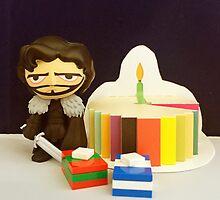 Jon Snow Birthday by FendekNaughton