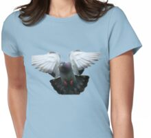 Rocky Rescued Rock Pigeon - NZ Womens Fitted T-Shirt