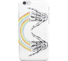 Louis Tomlinson Skele-Hands iPhone Case/Skin