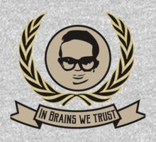 In brains we trust Kids Clothes