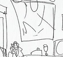 BIG FAN IN THE KITCHEN(C2007) by Paul Romanowski
