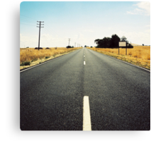 country highway Canvas Print
